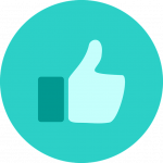 thumbs up testimonial icon for alana lee photography