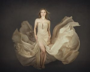Alana Lee Photography: girl with gown that looks like a floating dress
