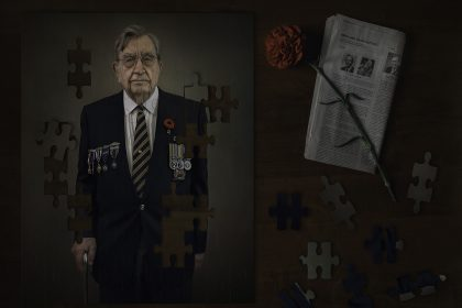 Photography of Korean War Veteran puzzle