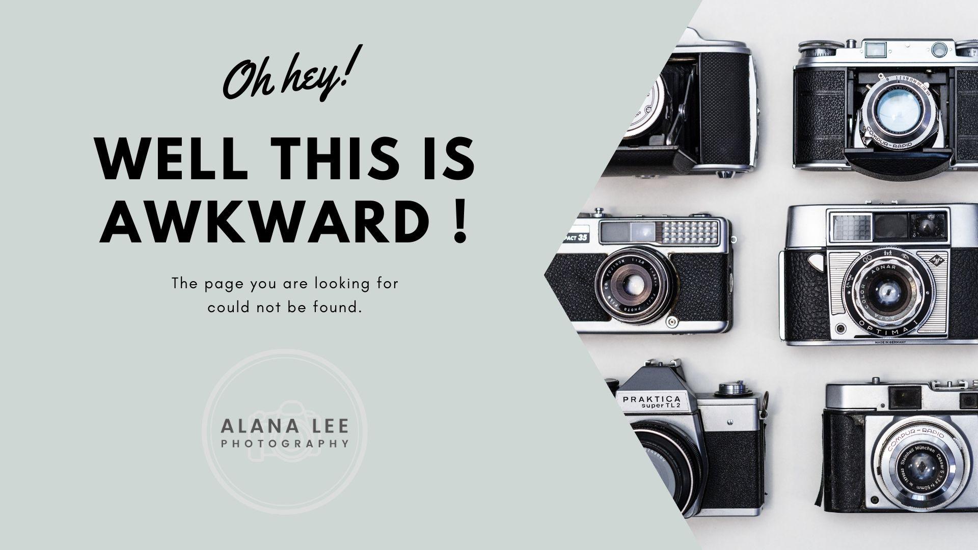alana lee custom 404 error page