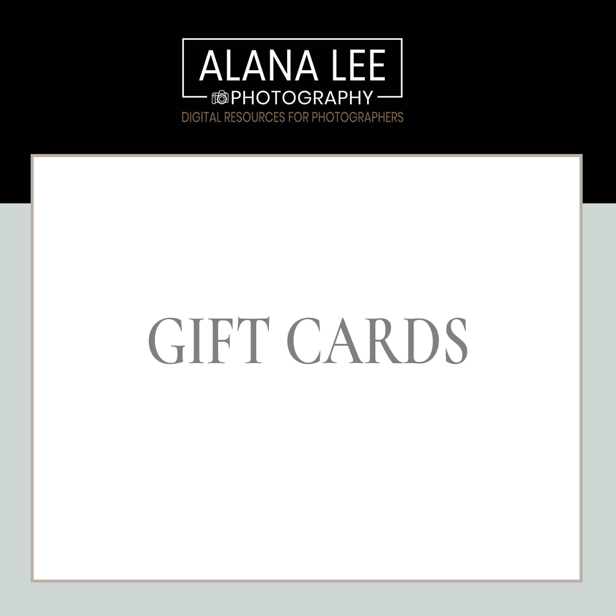 gift cards for port hope and cobourg photography studio