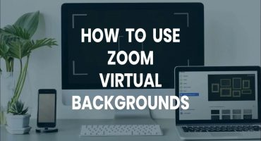 how to use zoom virtual backgrounds