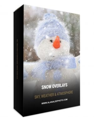 snow overlays for photoshop