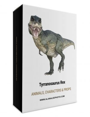 tyrannosaurus rex overlays for photoshop by alana lee photography