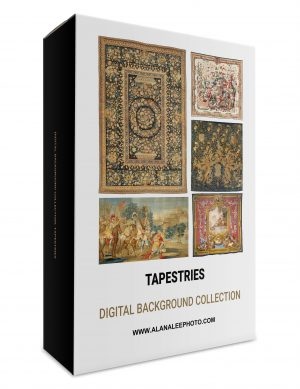 tapestry and textile digital background and digital backdrop collection for photoshop